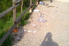 Intervento pulizia sponde Rio Ospo