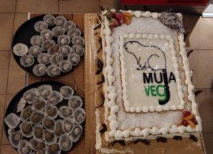 Torta Cena di Finanziamento MujaVeg Festival Vegano Muggia